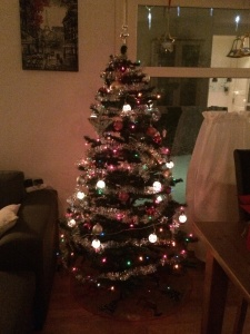 Pyntet juletre